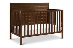 The Carter's Morgan Convertible Crib features raised horizontal molding on a solid panel headboard. Converts to a toddler bed, day bed, and full-size bed for use long past the nursery years. 4 In 1, The 4, Morgan 4, Panel Headboard, Convertible Crib, Baby Safety, Indoor Air Quality, Engineered Wood