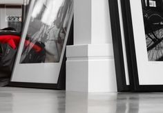 Our baseboards create the perfect transition between wall and floor