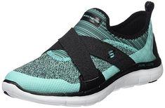 dcce46ed2 Skechers Women s Flex Appeal 2.0 New Image Low-Top Sneakers  Amazon.co.uk   Shoes   Bags