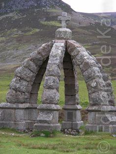Gemaakt tijdens de vakantie in Schotland, Glen esk, de queens well.