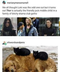 Thor and siblings