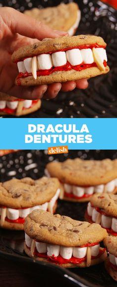 Dracula Dentures Are A Halloween Party MUST fantasias boneca
