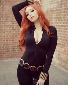 Black Widow (Marvel Universe) cosplay by beautiful 😎 . Black Widow Cosplay, Psylocke, Cosplay Outfits, Cosplay Girls, World Of Warcraft, Cosplay Marvel, Disney Cosplay, Iron Man, Edith Gonzalez