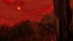 """illustrazione per il racconto  """"La Stella"""" di H. G. Wells Matite e PostProduzione Digitale > Federico Bicocchi Paesaggi e Chine > Valentina Zampedri Colorazione > Gloria Gambino"""