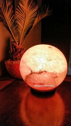 Himalayan salt lamp, Himalayan salt and Himalayan on Pinterest