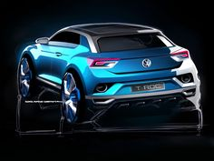 Volkswagen T-ROC Concept - Design Preview