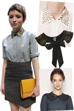Studded collars -- fun and subversive way to show academic style :)