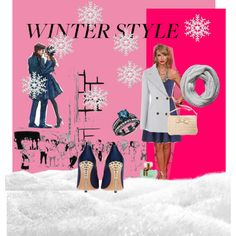 """""""Frosted"""" by danuta-byra on Polyvore"""