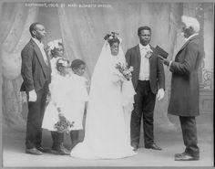 1920's Black Wedding Party by Black History Album, via Flickr