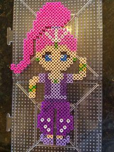 Shimmer and shine perler beads