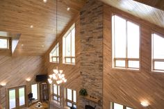 This home was built for Eugene and Kathy of Morris, MN Special Features: Morton's Hi-Rib Steel Wrap Around Porch Dormers Morton's Energy Perf. Morton Homes, Morton Building Homes, Pole Building House, Shed Homes, Barn Homes, Pole Buildings, Steel House, Diy House Projects, Build Your Dream Home