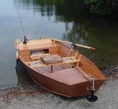 Nice fishing dinghy