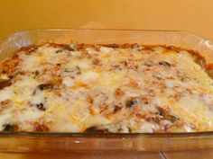 SPLENDID LOW-CARBING BY JENNIFER ELOFF: MEXICAN CHICKEN CASSEROLE - Delicious meal...Visit us at: https://www.facebook.com/LowCarbingAmongFriends/