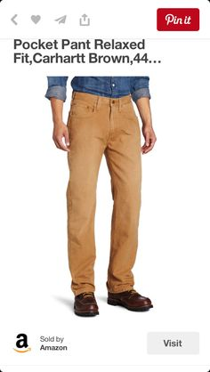 2d42c0f26a7 Carhartt Men s Weathered Duck 5 Pocket Pant Relaxed Fit
