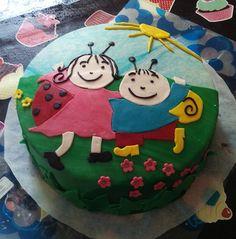 Bogyó és Babóca cake