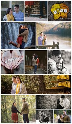 Fall Engagement Photo Session