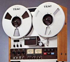Teac 3300 SX. When music was real.