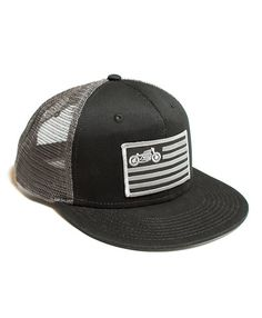 motorcycle cafe racer snap back hat scotch and iron