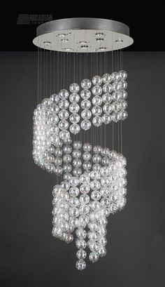 Modern Crystal Chandeliers | PLC Lighting Oxygen Contemporary Crystal Chandelier - PLC-96953-PC See ...