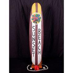 "Sunset Beach   Surfing Sign 40"""