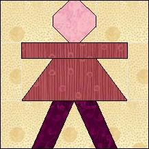 Block of Day for March 21, 2014 - Little Girl