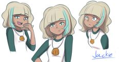 Star vs the Forces of Evil: Jackie sketches by Mgx0.deviantart.com on @DeviantArt