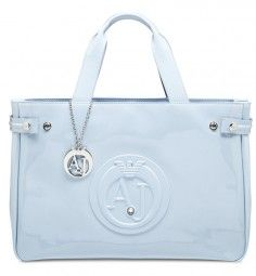 Handtasche in Hellblau Marken Outlet, Armani Jeans, Ted Baker, Tote Bag, Bags, Beauty Products, Light Blue, Handbags, Tote Bags