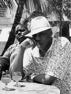 Christopher Wallace Sean Carter aka Biggie Smalls Jay-Z. the 2 greatest hip hop artists ever
