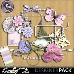 Flower And Lace Weddings Kit2