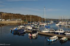 Mylor harbour, Cornwall