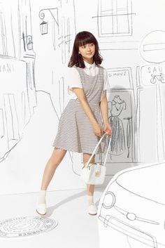 。❄︎ . •❄️*✱多部美華子 Pretty Asian Girl, Blue Back, School Uniform Girls, Japan Girl, Cute Beauty, American Women, Asian Fashion, Asian Woman, Asian Beauty