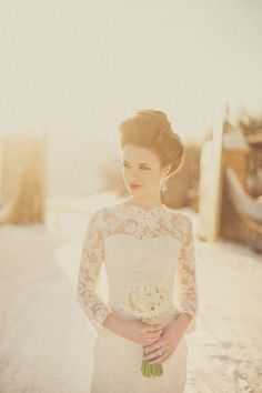 Victorian Bride. Photography by David Newkirk.Styled by Saucy & Kitsch.