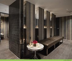 JayZ's Manhattan nightclub, 40/40 gets a hot makeover via New York hospitality designer, Jeffrey Beers.