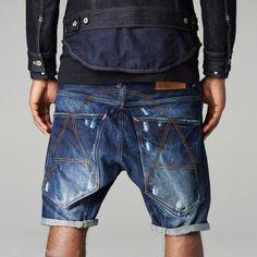 3c3cbb546645b Gstar raw A Crotch 12 shortJeans pantalon court taille 30 Bnwt Men.  Fringues  Éditorial DenimDenim ...