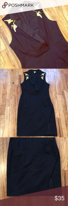 683304da Altuzarra for Target Tailored Dress w/ Embroidery Make an entrance in this  LBD with golden