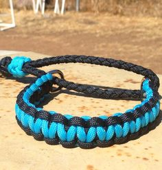 Paracord SemiAdjustable Martingale Collar by EpicCustomCreations, $13.00