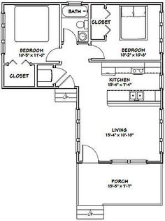 16x30 Tiny House --