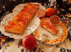 Multilayered blood orange tart #bloodorange #tart #recipe