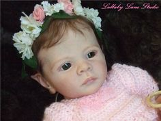 "Sweet & realistic ""Ira"" elf-Karola Wegerich reborn by Lullaby Lane Studio"