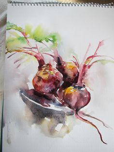 brilliant beet , from my sktch book