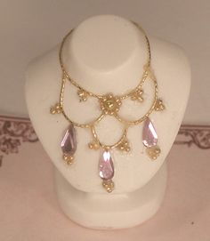 Necklace on Bust #210 by Loretta Kasza