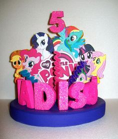 Image result for my little pony centerpieces