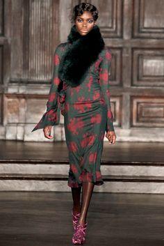 L'Wren Scott Fall 2012 Ready-to-Wear Fashion Show - Jeneil Williams