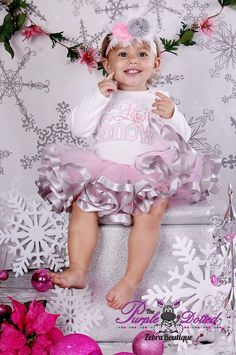 Hey, I found this really awesome Etsy listing at https://www.etsy.com/listing/159792599/baby-girls-pink-grey-ribbon-tutu-baby