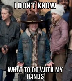 What I thought of Carl in the cast photo.