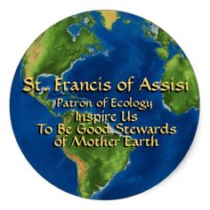 Francis of Assisi Classic Round Sticker created by Saints_Aplenty. Saint Francis Prayer, St Francis, Christian Mysticism, Mother's Day Printables, Mothersday Cards, World Environment Day, Sweet Lord, Francis Of Assisi, Religious Gifts