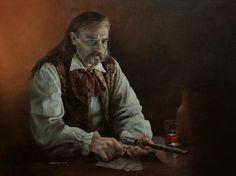 """James Butler - Wild Bill Hickok"" by Chris Collingwood"