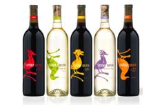 Cute Lucky Duck Wine Labels Are Made for Casual Drinkers #wine #design trendhunter.com