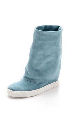Casadei Reena Suede Boots