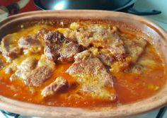 Heavenly Crispy Juicy Spicy Roast i Roman Bowl Recept! No Salt Recipes, Pork Recipes, Cooking Recipes, Good Food, Yummy Food, Hungarian Recipes, Hungarian Food, Pressure Cooker Recipes, Food 52